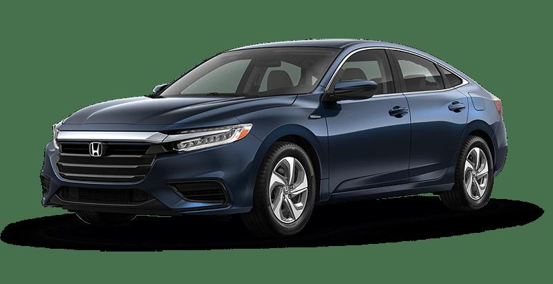 2020 Honda Insight LX in Cosmic Blue