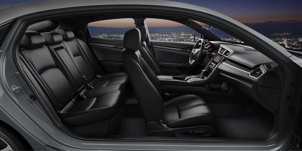 2020 Honda Civic Hatchback Wide Interior