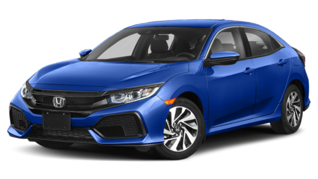 Blue 2019 Honda Civic Hatchback