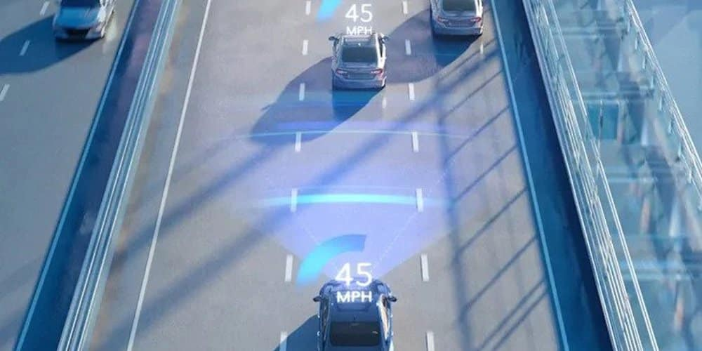 Honda Adaptive Cruise Control Display