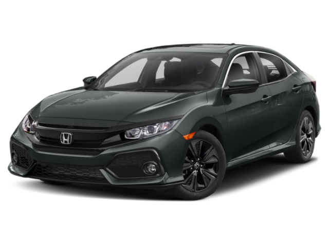 2020 Gray Honda Civic Sedan EX