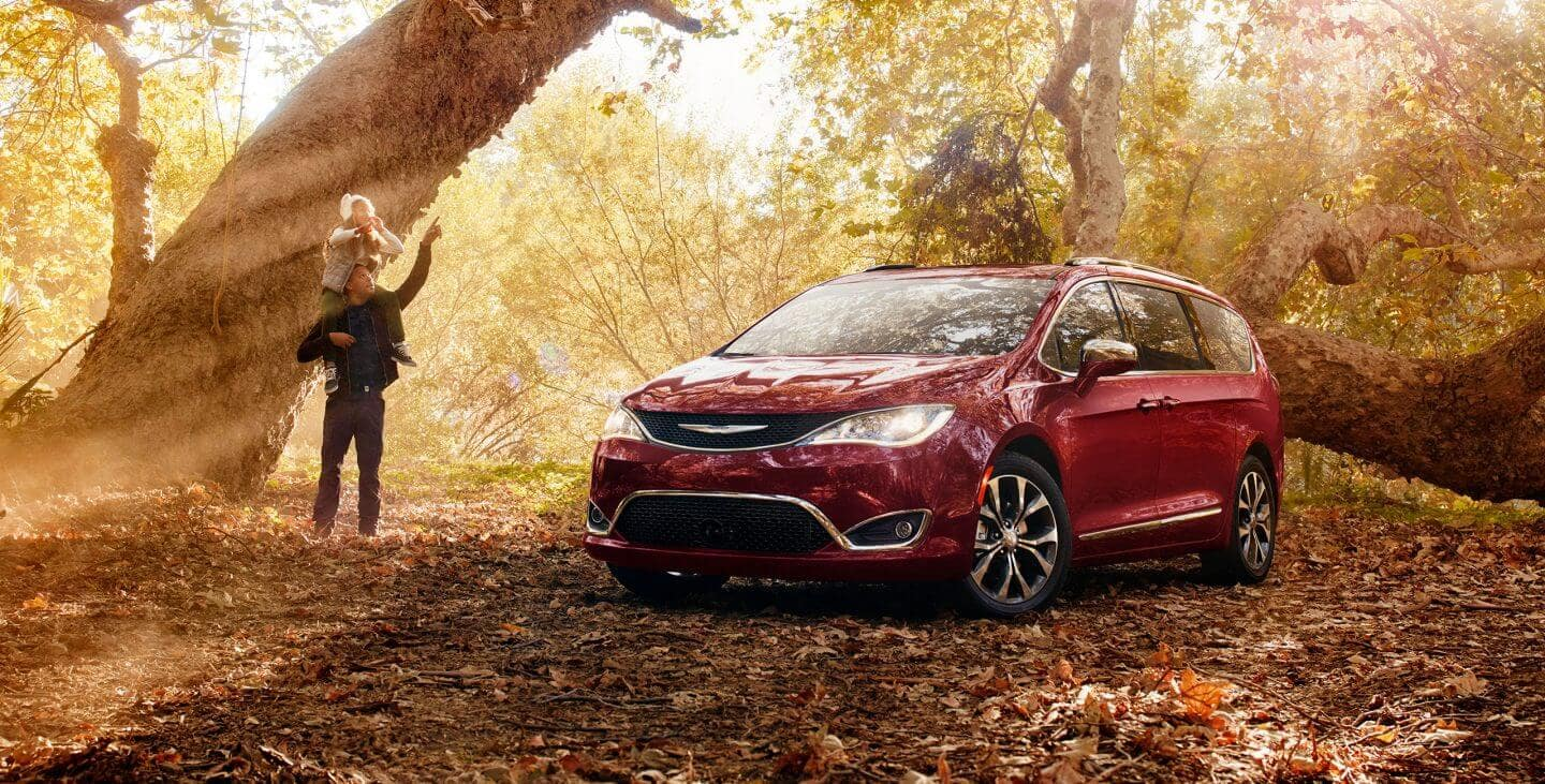 2018 Chrysler Pacifica In forest