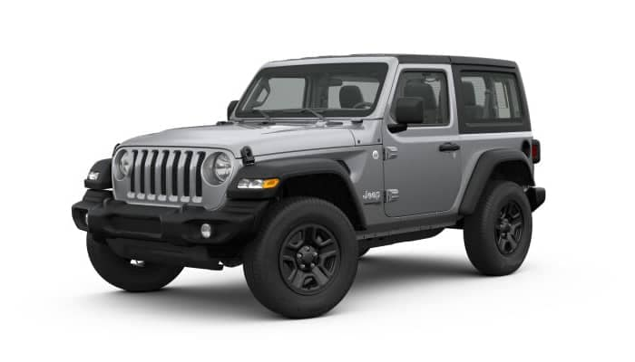 Billet Silver 2019 Jeep Wrangler