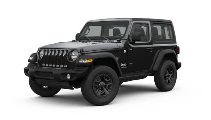 Black 2019 Jeep Wrangler