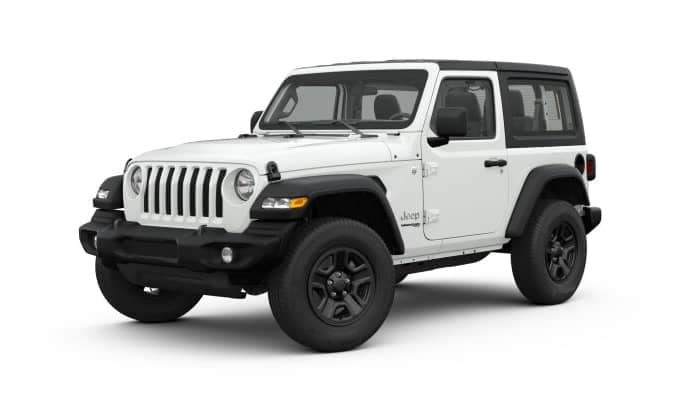 Bright White 2019 Jeep Wrangler