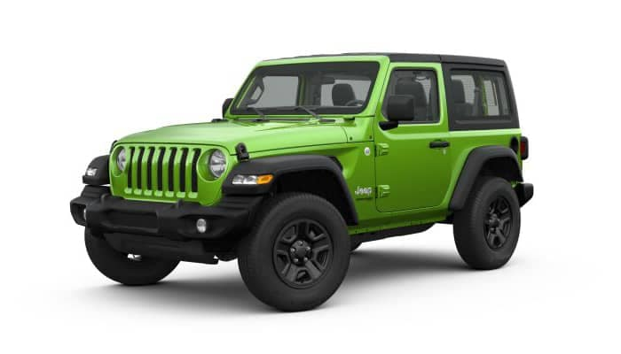 2019 Jeep Wrangler in Mojito