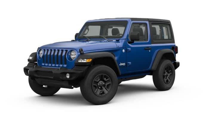 Ocean Blue 2019 Jeep Wrangler