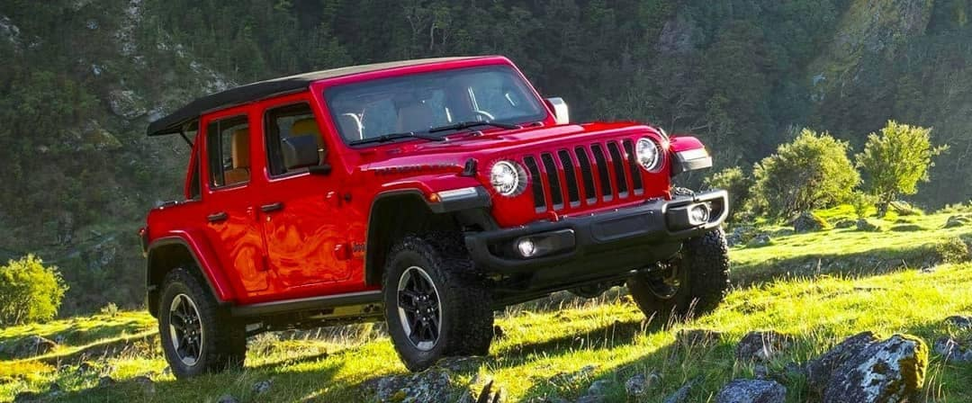 2019 Jeep Wrangler outdoors
