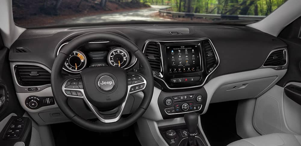 2019 Jeep Cherokee's dashboard