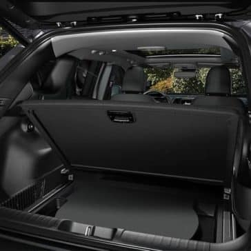 hidden storage in tailgate of 2019 Jeep Cherokee