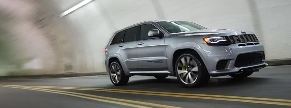 2019 Jeep Grand Cherokee in tunnel