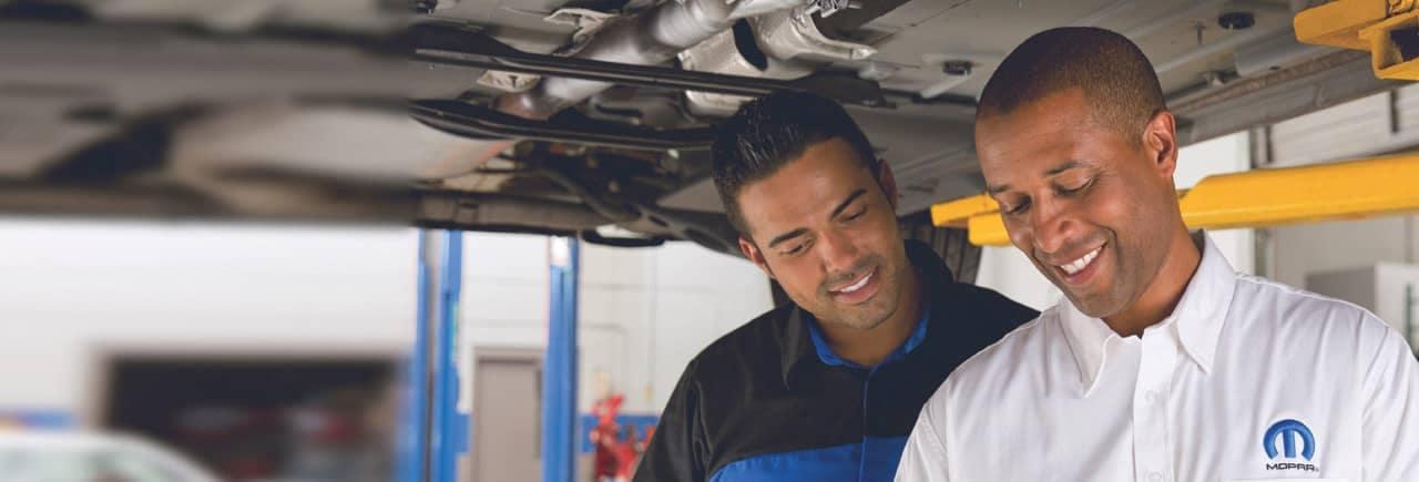 mopar service inspection