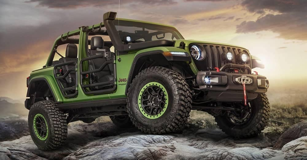 Jeep Wrangler with Accessories
