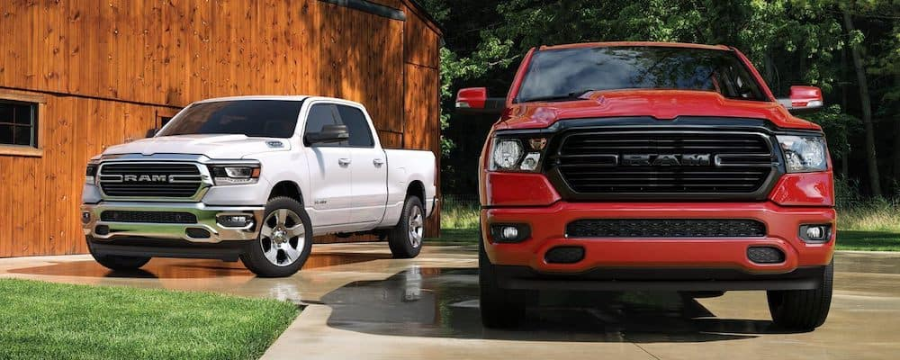 2020 Ram 1500 trucks