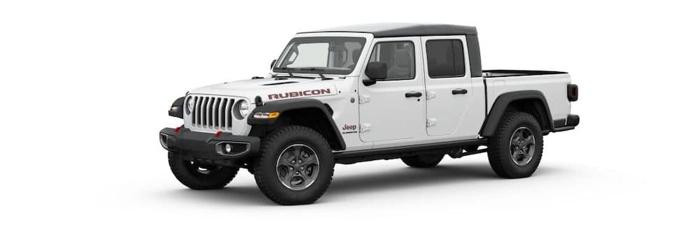 2020 Jeep Gladiator in Bright White Clear-Coat