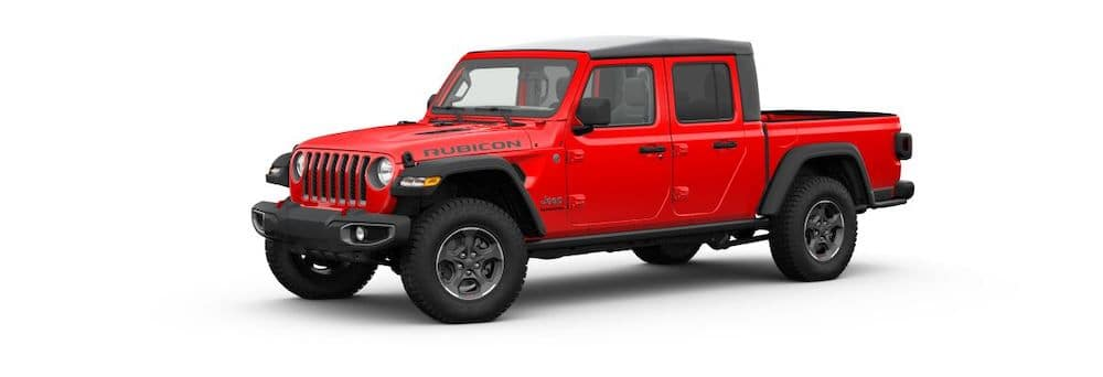 2020 Jeep Gladiator in Firecracker Red Clear-Coat