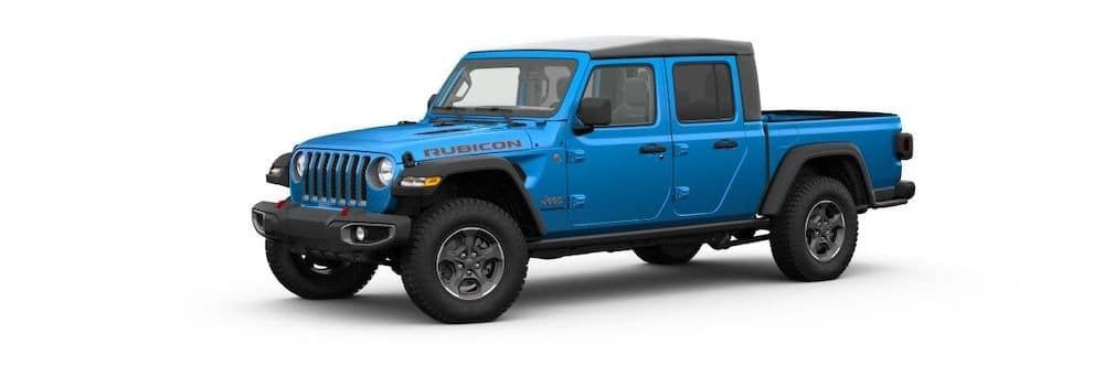 2020 Jeep Gladiator in Hydro Blue Pearl-Coat