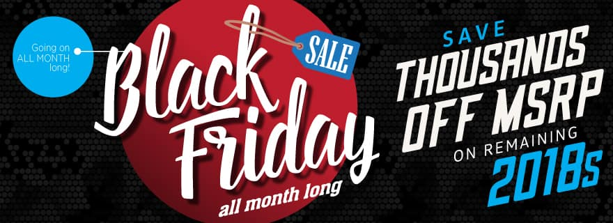 Save thousands off 2018's at Volkswagen Lee's Summit during Black Friday