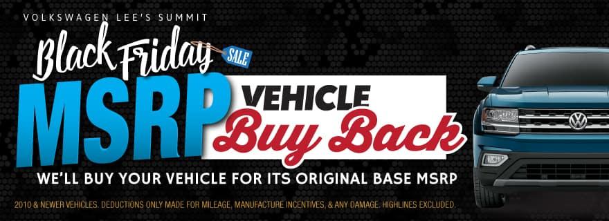 VW Lee's Summit Trade in Offer MSRP Buy Back