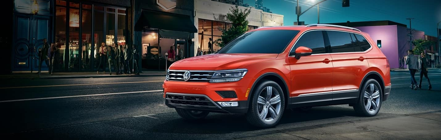 Volkswagen Tiguan Red Orange