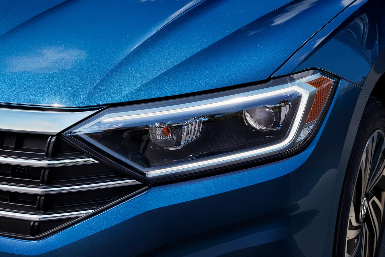2019 Jetta Silk Blue Metallic