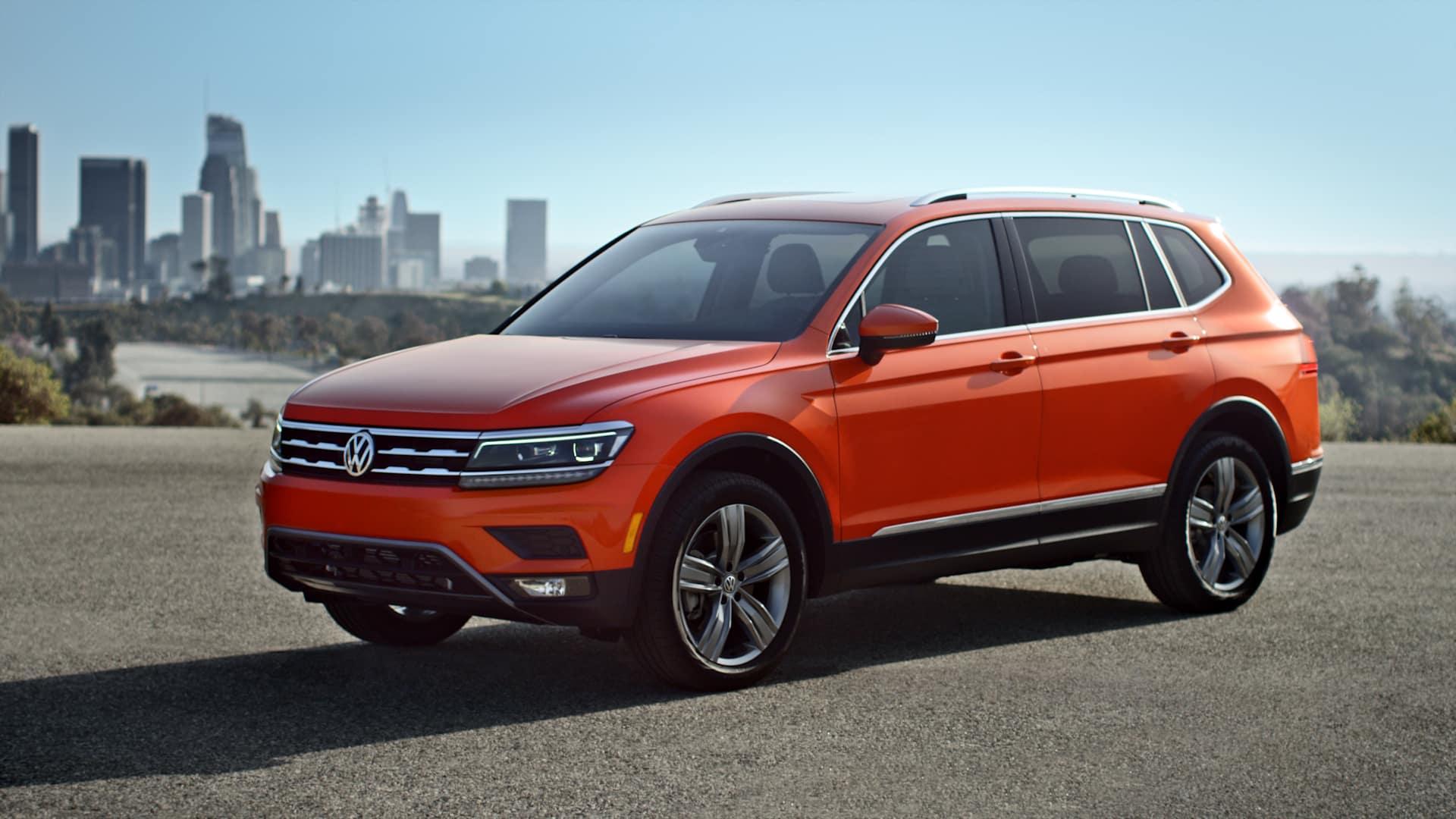 Volkswagen Tiguan SEL Premium Habanero Orange