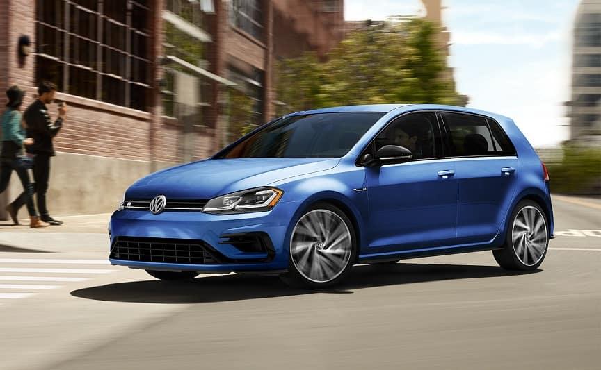 2019 Volkswagen Golf R Blue