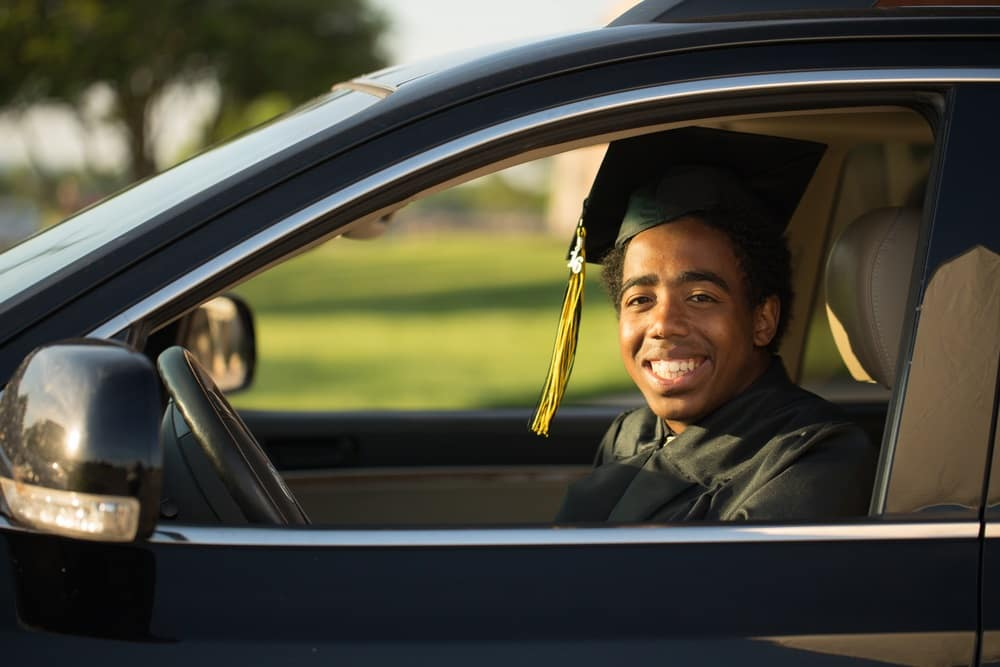 college graduate car