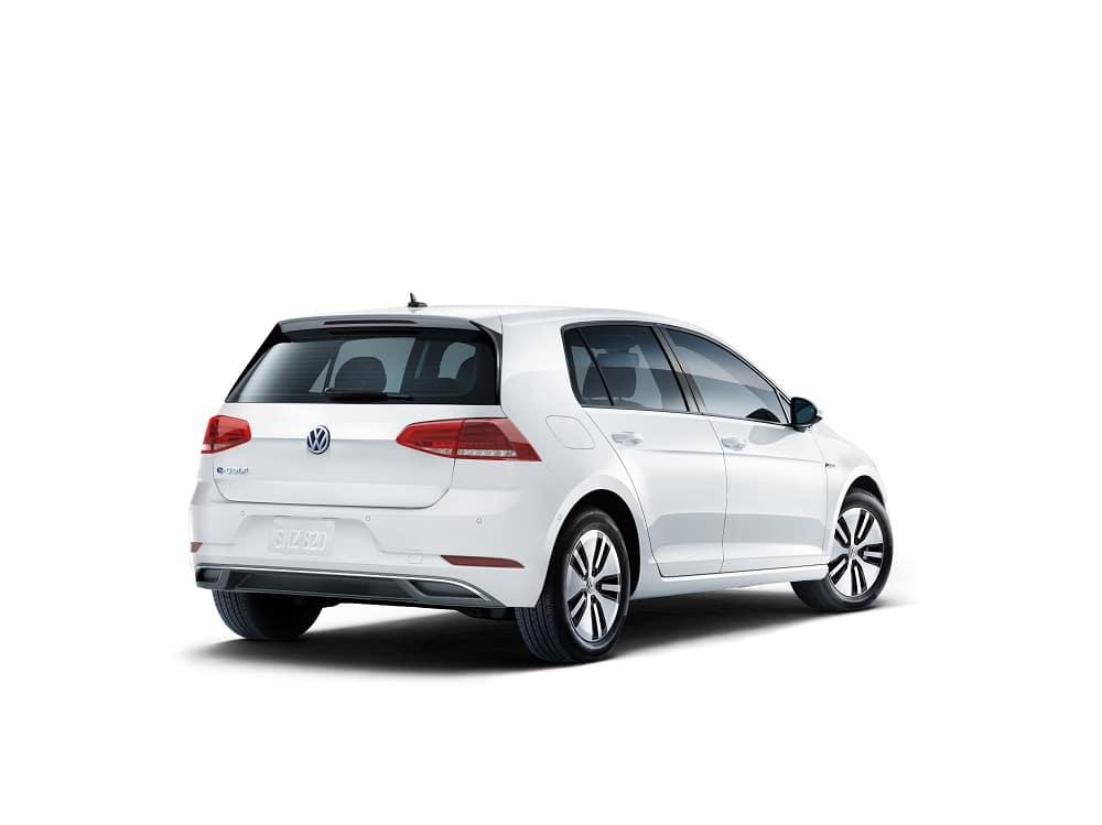 2019 Volkswagen e-Golf White