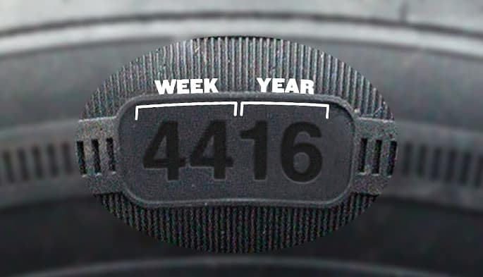 how to check tire manufacturing date