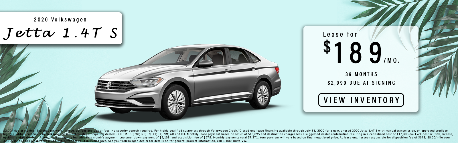 Jetta lease offer