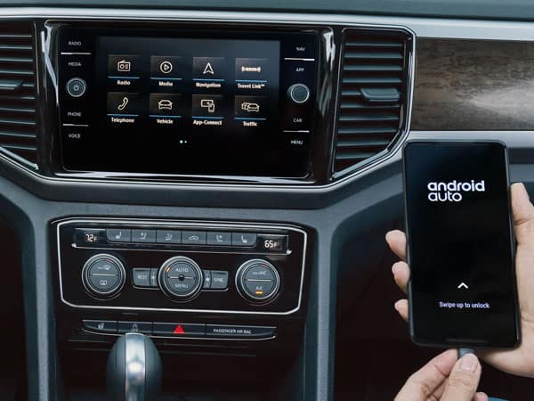 2021 Volkswagen Atlas Infotainment System
