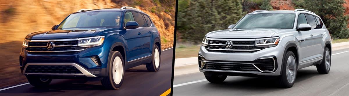 2021.5 Volkswagen Atlas vs 2021 Volkswagen Atlas