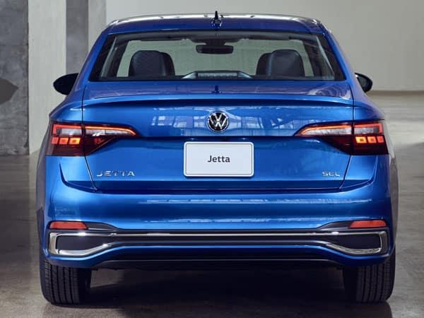 2022 Volkswagen Jetta Rear Angle & Bumper