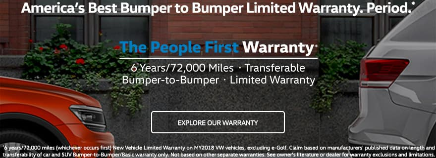 Volkswagen People's First Warranty Vehicle Display Page