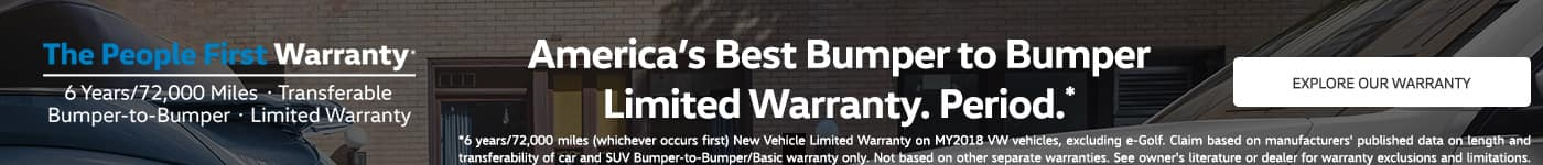 Volkswagen People's First Warranty Search Results Page