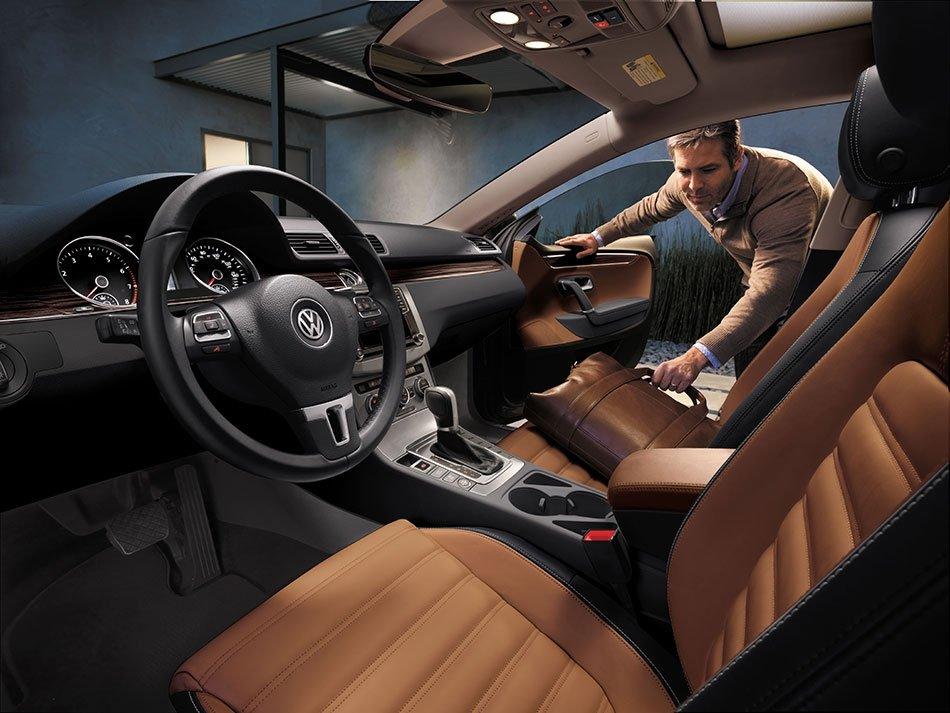 2017 volkswagen cc interior volkswagen of south charlotte