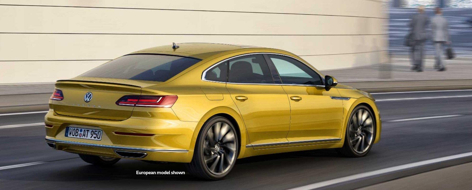 An Early Look at the 2018 Volkswagen Arteon Volkswagen