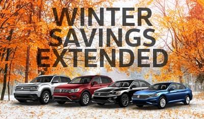Winter Savings Extended!