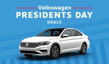 Volkswagen Presidents Day Deals