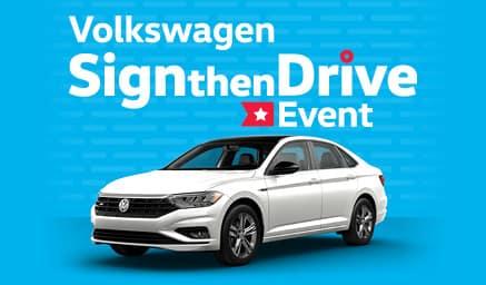 Volkswagen Sign then Drive Event