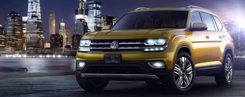 2018 VW Atlas Exterior | RSVP for the Launch Event