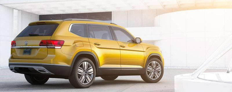 2018 VW Atlas Exterior | Test Drive at Volkswagen of Streetsboro
