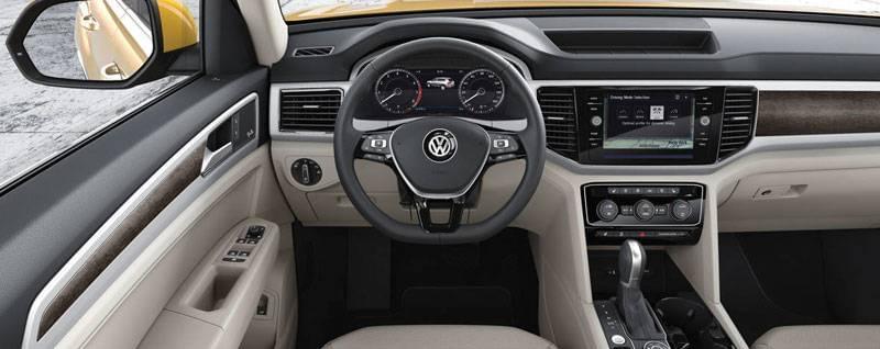 2018 VW Atlas Interior | Test Drive at Volkswagen of Streetsboro