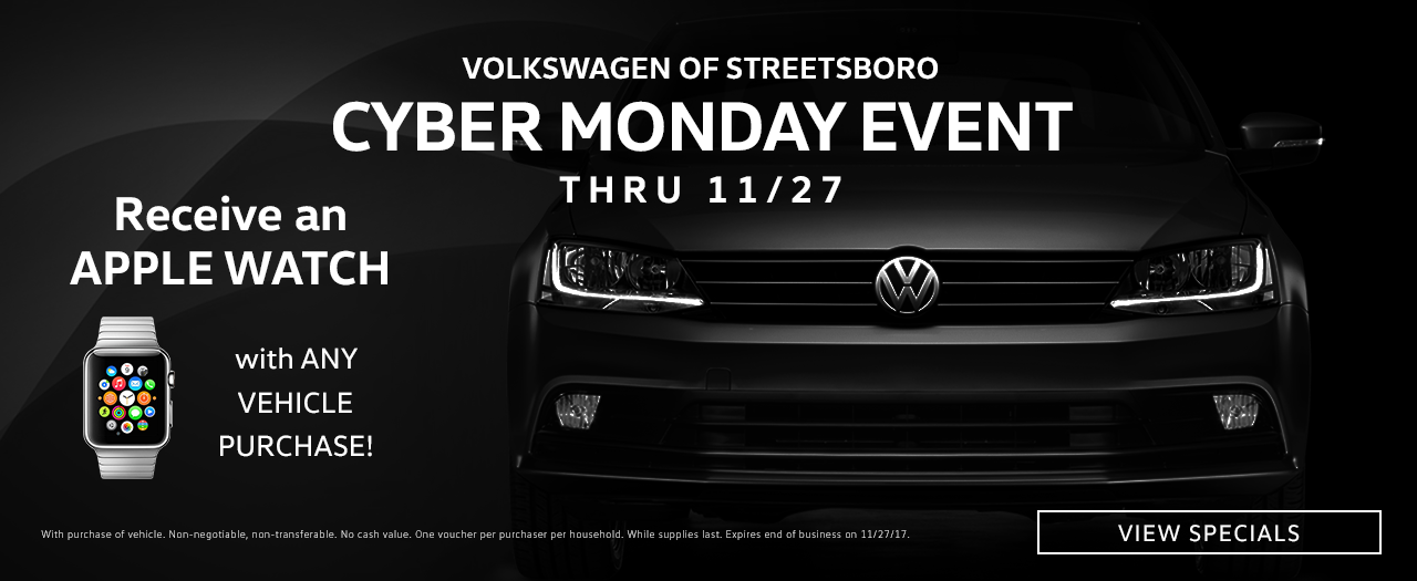 2017 Black Friday Offers | VW of Streetsboro