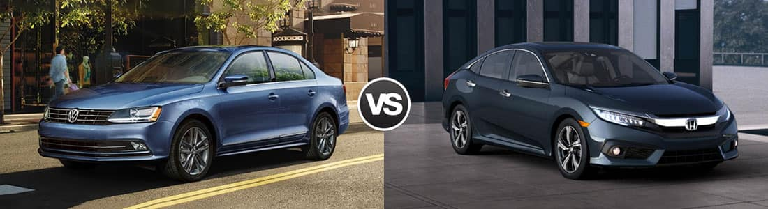 2018 Volkswagen Jetta vs 2018 Honda Civic