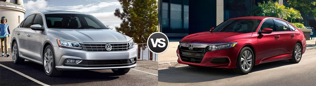 2018 Volkswagen Passat vs 2018 Honda Accord