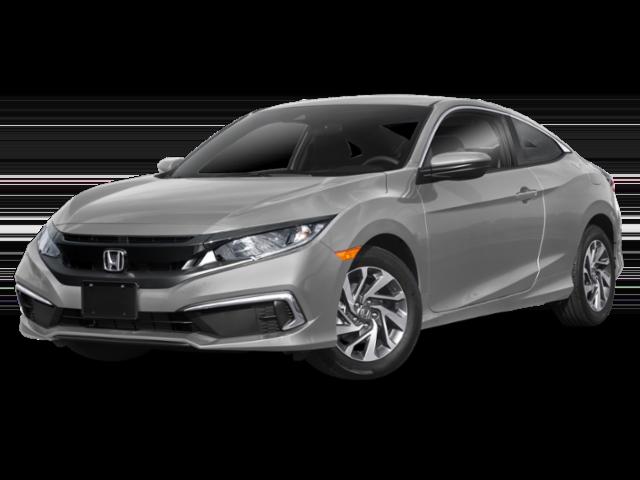 2019 Honda Civic in silver