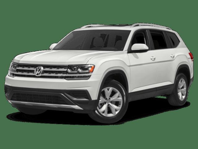 2019 Volkswagen Atlas in white