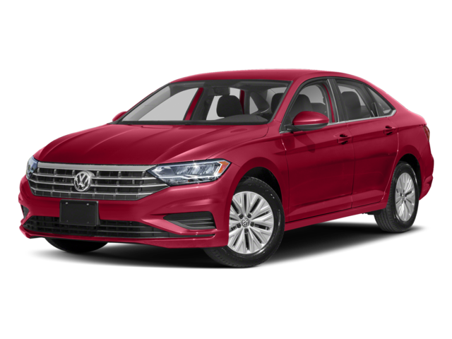 2019 Volkswagen Jetta in red
